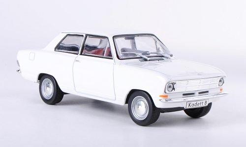 Opel Kadett B Limousine, weiss, 2-Türer (ohne Magazin), 1965, Modellauto, Fertigmodell, SpecialC.-40 1:43