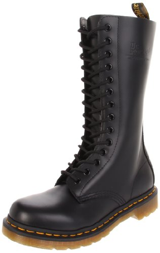 Dr. Martens, Stivali donna Black smooth