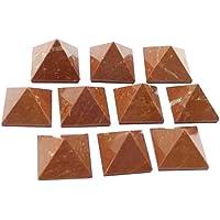 Sch?n Viel 10?St?ck rot Jasper Edelstein Pyramiden Kristall Reiki Vaastu Heilung preisvergleich bei billige-tabletten.eu