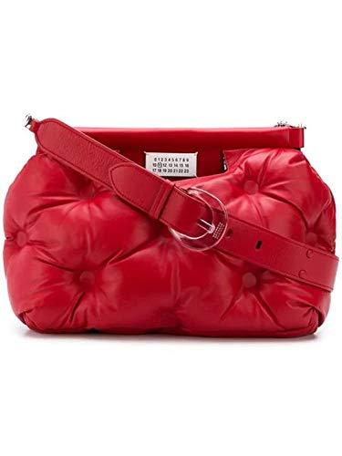 Maison Margiela Damen S61wg0034pr818t4327 Rot Leder Tote