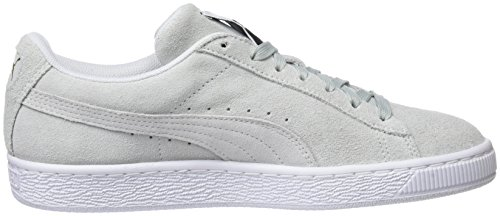Puma Suede Classic, Sneakers Basses Mixte Adulte Bleu (Blue Flower-puma White)