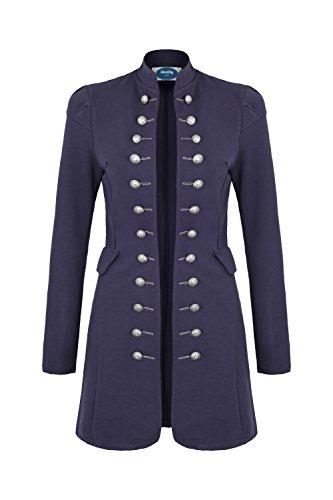 AO Massimo Military Coat Slim Fit Gr. XXL Dunkelblau