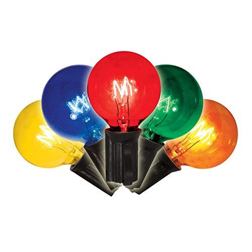 Brite Star 25 Count Multi-Colored G40 Light Set -