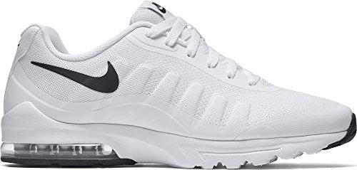 Nike Herren Air Max Invigor Laufschuhe, Weiß (White/Black 100), 45.5 EU (Nike Air Max 90 Basketball)
