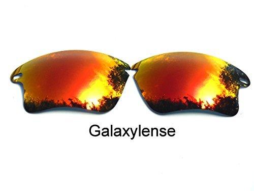 Galaxis Ersatzgläser für Oakley Schnell Jacke XL Polarisierend Rote Farbe - Durchsichtig, regular