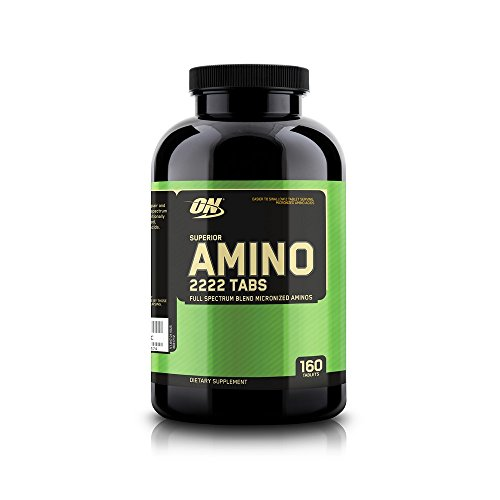 41uLzSU2ZzL. SS500  - Optimum Nutrition Superior Amino 2222 Amino Acid Tablets - Tub of 160