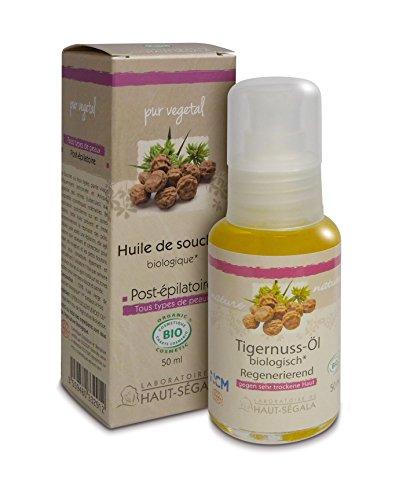 Les huiles végétales de souchet biologique 50 ml