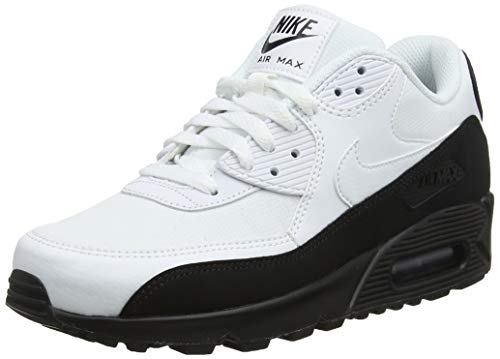 separation shoes 51ab7 4a3e3 Nike Men s s Air Max 90 Essential Low-Top Sneakers, (Black White 006