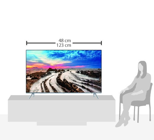 Samsung UE55MU7009 138 cm (55 Zoll) 4k Fernseher - 12