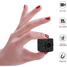Teepao Y8 Mini Wifi Cámara Espía Ocultada, Cámara de Niñera Inalámbrica Full HD 1080P Cámara
