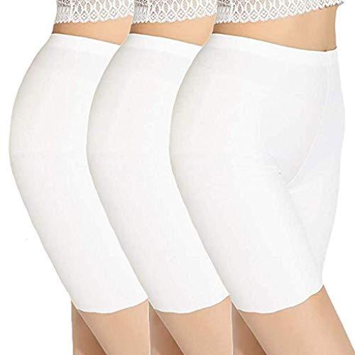 Kostüm Mit Lederleggings - catmoew Yogahosen Damen 3PC Weiß Damen