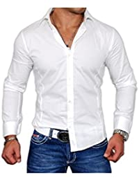 BestStyle - Chemise Homme cintrée