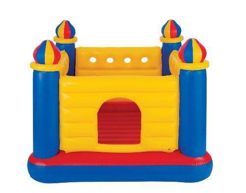 Baby Laufstall Kostüm - INTEX Inflatable Jump-O-Lene Ball Pit Castle Bouncer by Intex
