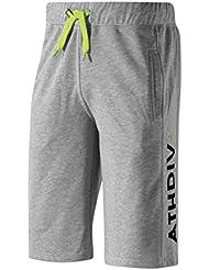 Mizuno Pantalones de Running Producto Oficial 2015/2016 HERITAGE 1906 HALF PANT K2ED500307 Color Gris Talla gris gris Talla:XL