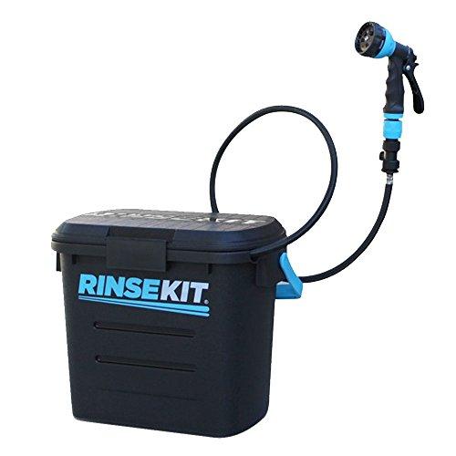 Spülen Kit Unisex tragbaren Kit, schwarz -