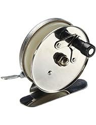 PhilMat Moulinet de pêche en plein air inverser frein moulinets de pêche à la mouche de métal