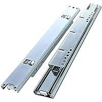 Schubladenschienen Wei/ß 30 cm lang Teilausz/üge aus Stahl Vagner SDH