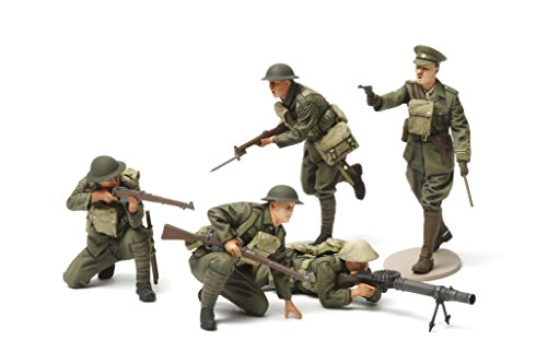 Tamiya 300035339 - 1:35 WWI british Infantrie Figur-Set 5