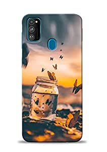 PRINT STATION Printed Back Case Cover for Samsung Galaxy M30s - 6620