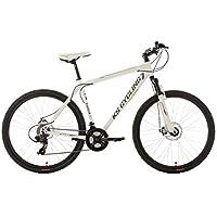 KS Cycling Fahrrad Mountainbike Hardtail MTB Heist, Weiß, 27.5 Zoll, 556M