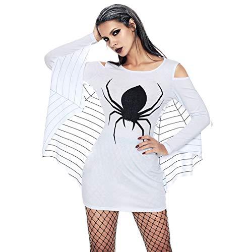 Jiayiqi Frauen Vampir Fledermaus Halloween Kostüm Verkleiden Sich Sweatshirt 3XL