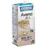 COSTA Bebida de Avena Convencional - Paquete de 6 x 1000ml - Total 6000ml