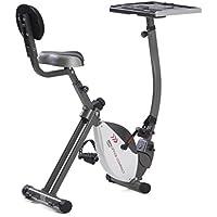 BRX-OFFICE COMPACT - Bicicleta Estáticas plegable - entrada fácil + tabla