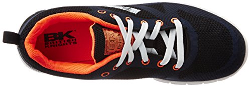 British Knights ENERGY HOMMES BAS-TOP SNEAKER MARINE/ORANGE
