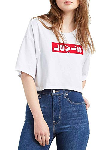 Camiseta Levis 02 Graphic Crop Slacker tee Lazy