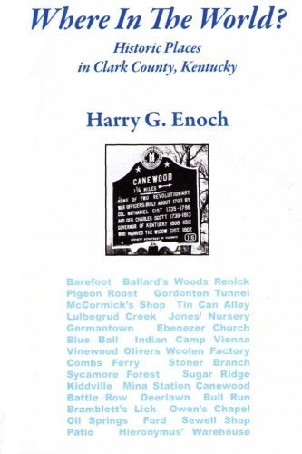 Where In The World? by Harry G. Enoch (2013-02-15)