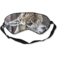 Eye Mask Eyeshade Alpaca Sleep Mask Blindfold Eyepatch Adjustable Head Strap preisvergleich bei billige-tabletten.eu