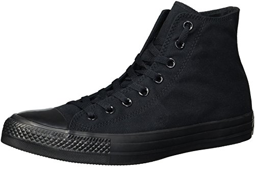 Converse Chuck Taylor AS Core HI, Unisex-Erwachsene Hohe Sneaker, Schwarz (Black Mono), 39.5 EU (6.5 UK) (Schuhe Mono Hi)