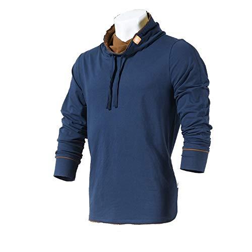 Aoogo Herren Sweatshirt Pullover Leichte Windbedeckte Ash-Radtrikots Und Langarm Bluse FüR Hemd Top T Shirt Solide DüNne Schlupfjacke Sportjacke Outdoorjacke Winddicht Warm Slim Fit