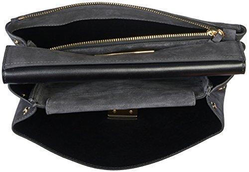 1201 Coccinelle Handtasche Fume Arlettis Suede gg6xSq