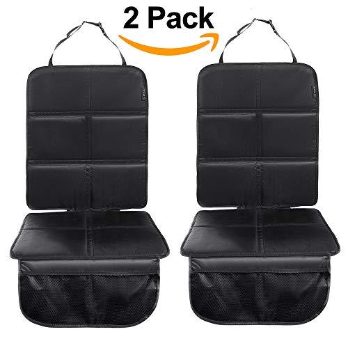 8safe Protector Universal para Asiento de Coche (PACK x 2) | Antideslizante y Resistente | ISOFIX Compatible | Material Oxford 210D | Tamaño ideal para Turismos/SUV