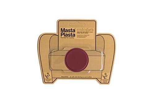 5 Kleine Leder (MastaPlasta Leder-Reparatur-Patch. Rot Kreis klein 5Loch. kaputtes Haar Löcher, verdeckt Flecken. Erste Hilfe für Sofas, Autositze, Handtaschen, Leder Jacken etc. Weitere Farben/Größen erhältlich)