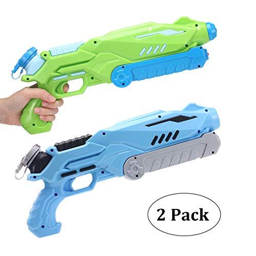 Super Soaker Pistolet À Eau pour Enfants et Adultes, Haute Capacité Jusqu'à 700ML Water Soaker Blaster pour Les...