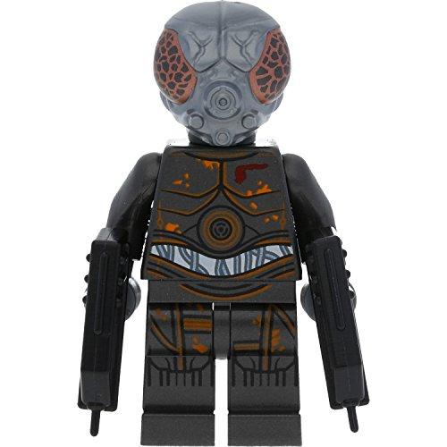 LEGO Star Wars Minifigur 4-Lom mit 2 GALAXYARMS Waffen