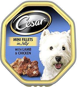 Cesar Mini Lamm Steaks und Hühnchen mit 24/150kg