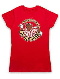 Inspired by Bullseye You Can't Beat A Bit Of Bully Unofficial Womens T-Shirt