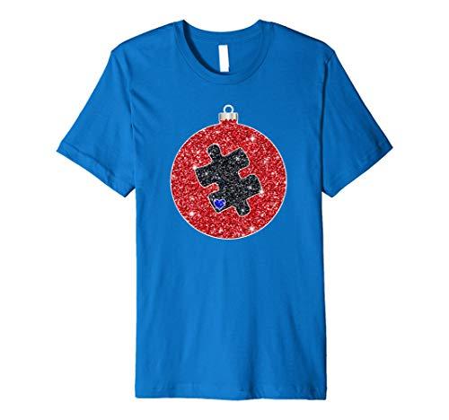 Twinkle Christmas Ornament Kugel Autismus Puzzle ()