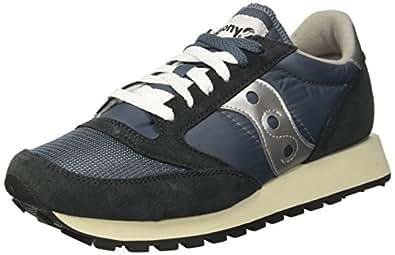 Saucony Jazz Original Vintage, Sneaker Unisex – Adulto, Blu (Blue/Navy/Silver 4), 37.5 EU
