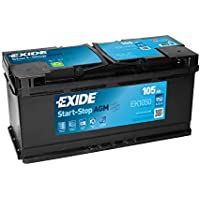 Exide 020 AGM Car Battery 105Ah EK1050 preiswert