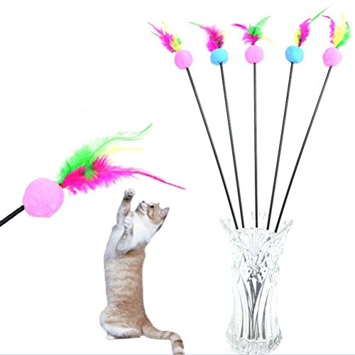 BESTIM-INCUK-1-Piece-Feather-Teaser-Interactive-Stick-Toy-for-Cat-and-Kitten-Cat-Toy-Interactive-Cat-Wand