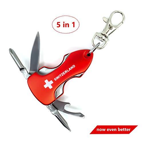 Llavero multi Tool 5 1 Switzerland - Multi herramienta