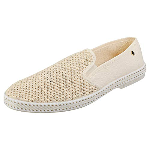 Rivieras 20 Degrees Slip on Shoes UK 7 Beige (Rivieras Schuhe)