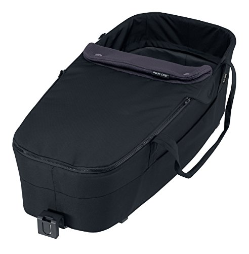 Maxi-Cosi 2-in-1 Softtragetasche und Fußsack für Mura Plus Kinderwagen, total black