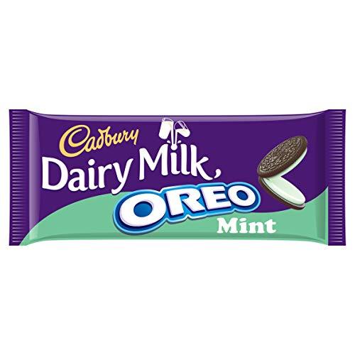Cadbury Dairy Milk With Oreo Mint Chocolate Bar, 120 g -