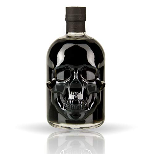 1 Flasche Black Head Absinth (0,5l)   Absynth Drink 55 Vol Alkohol und 35mg Thujon   Alkoholische Schnaps Geschenk-Idee für Männer