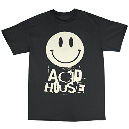 Mens Acid House Premium Cotton T-Shirt - S to 3XL